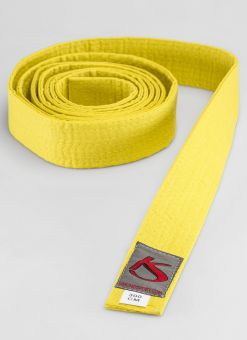 YELLOW BELT FOR MARTIAL ARTS 1
