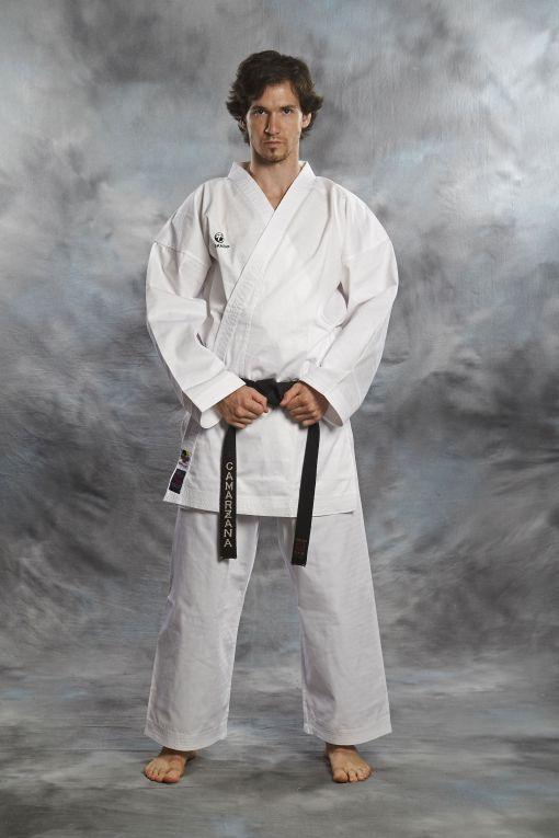 karate gi kumite master wkf 8oz blanco