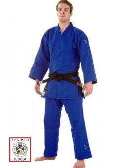 judo gi hiku IJF azul 750 de dos piezas