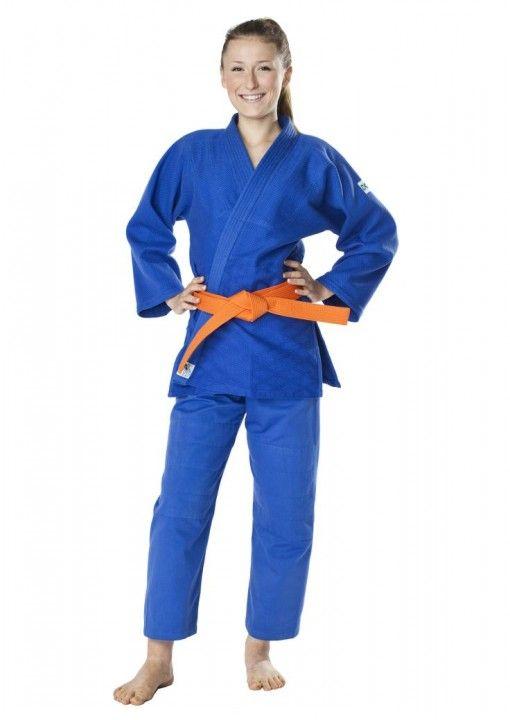 judo gi dax para niños azul 450gr dos partes