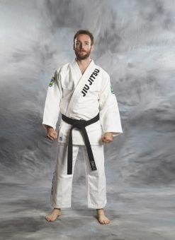 Brésilien GI Jiu-Jitsu blanc en deux morceaux