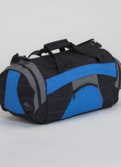 bolsa de competición dax azul y negra