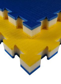 tatami tatamix J50R azul y amarillo