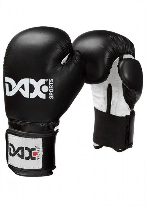 guantes de boxeo junior DAX de color negro