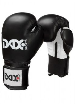 guantes de boxeo junior DAX de color negro