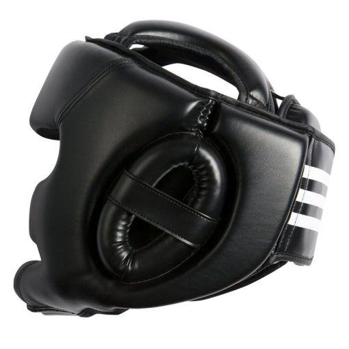 casco de boxeo de entrenamiento adidas de color negro