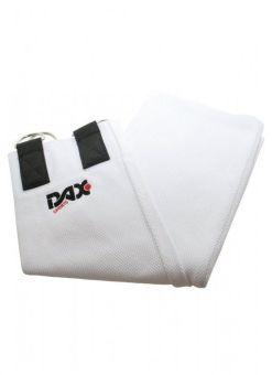 tirador para judo 300 cm blanco dax sport con 2 anillas