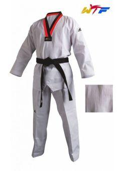 dobok Adidas taekwondo WTF champion 2 adiTCH02-bRn blanco