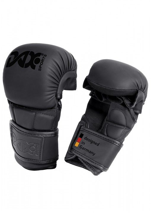guantes DAX para sparring MMA - negro
