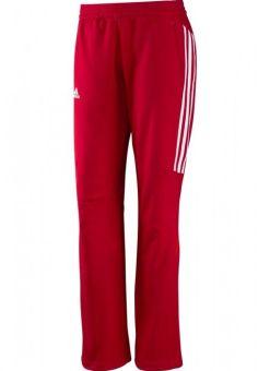 pantalones adidas t12 - rojos