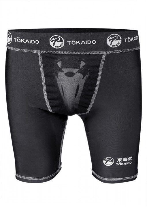 Pantalones cortos compresion con coquilla