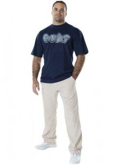 camiseta de judo dax 4 derribos azul para hombre