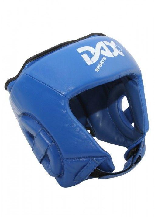 casco protector para lucha - azul