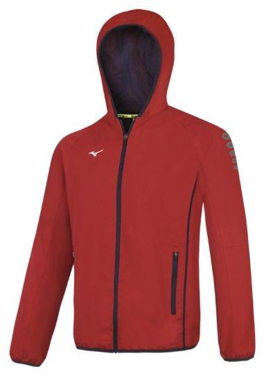 Mizuno veste de sport rouge