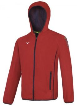 Mizuno M18 Sweat-shirt sport rouge