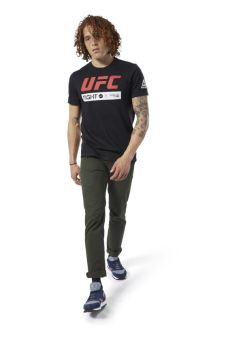 UFC FAN GEAR BLACK FIGHT WEEK T-SHIRT