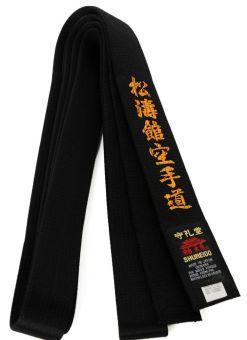 Cinturon negro shureido shito ryu