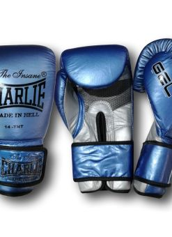 Gel Metallic Boxing Gloves