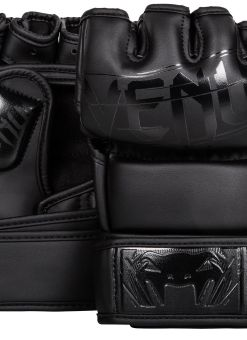 Guantillas de MMA Venum Undisputed 2.0 Negro Mate