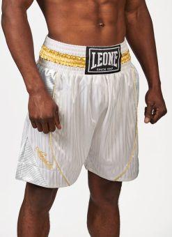 Pantalon Boxeo Leone Premium Blanco