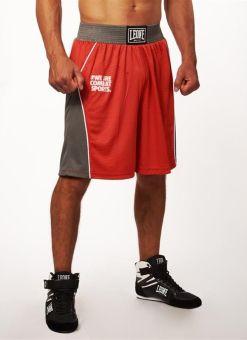 Pantalon Boxeo Leone Corner Rojo
