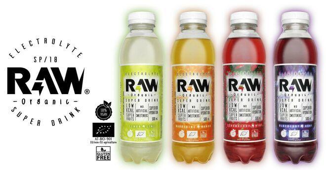 RAW Superdrink, El futuro de las bebidas isotónicas