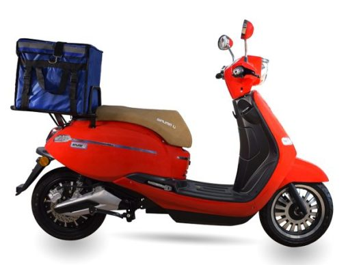 Scooter eléctrico Spuma cargo Rojo