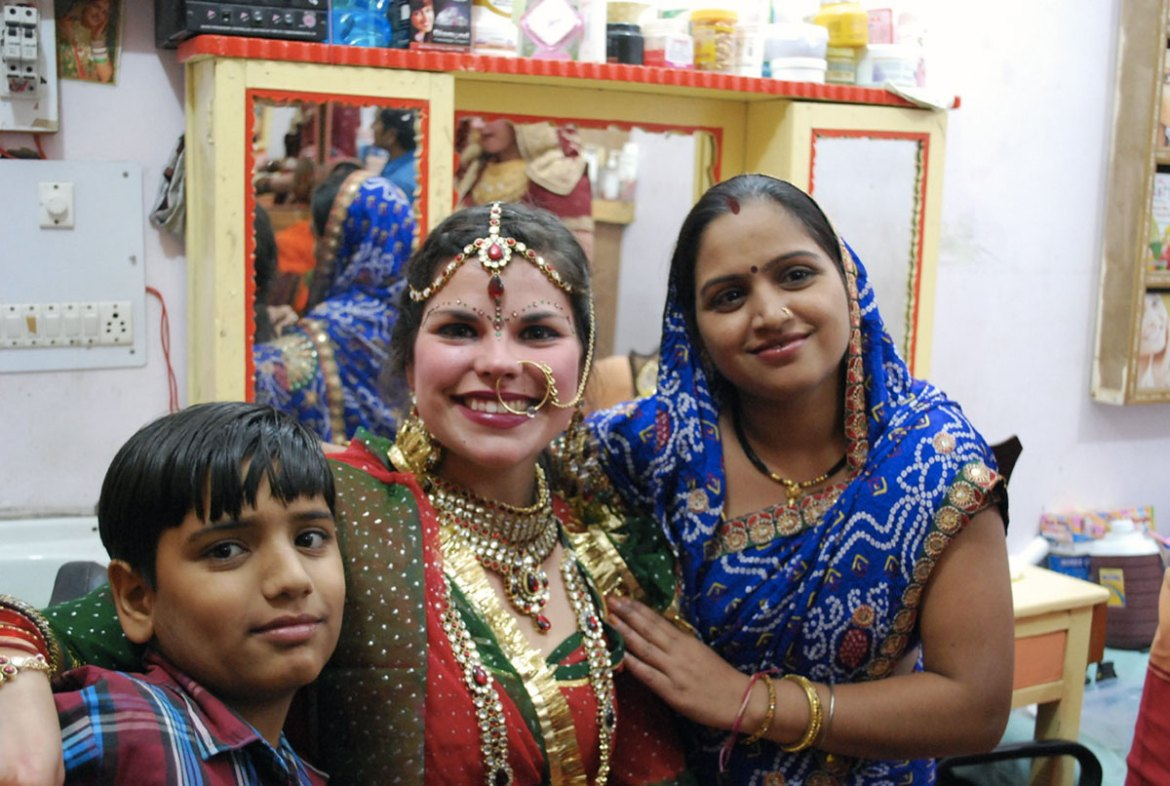 Ma participation à la Pushar Bridal Competition, Inde