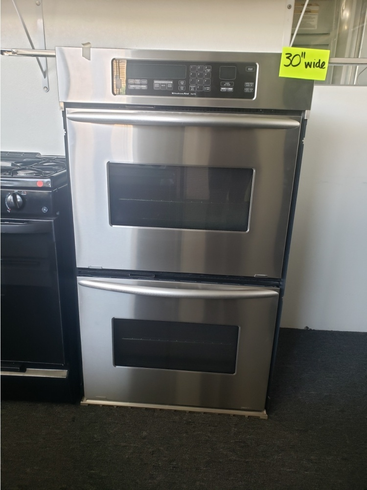 kitchenaid superba 30 stainless steel