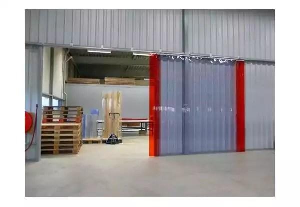 rideau de portes lamelles plastiques