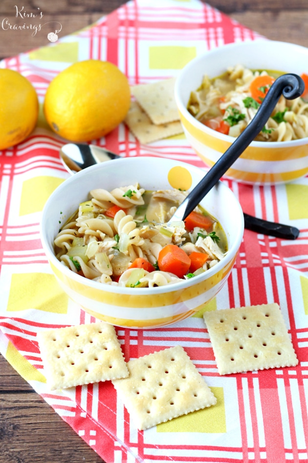 to love this gluten free copycat panera bread chicken noodle soup