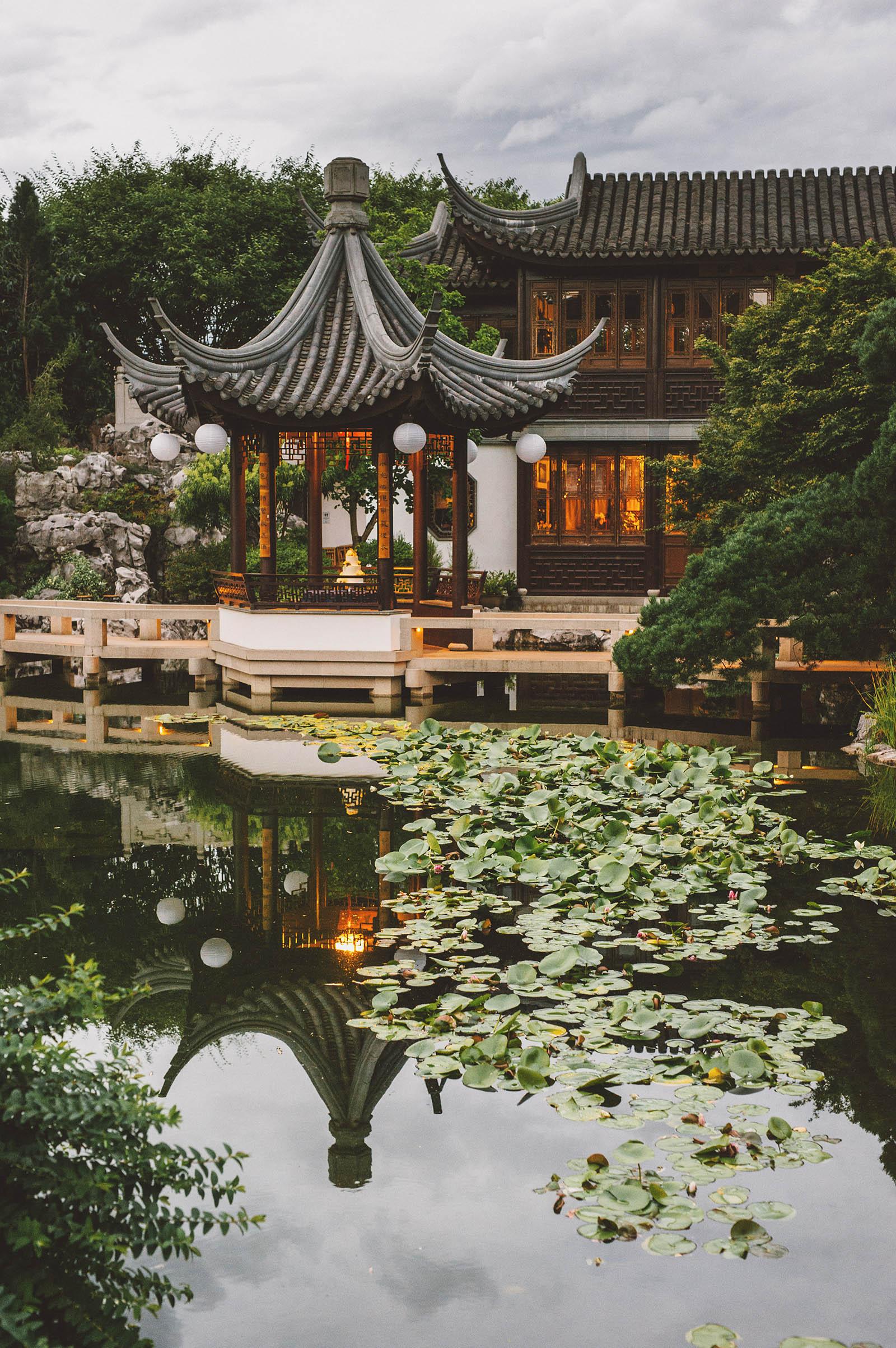 Diane Amp Rick S Lan Su Chinese Garden Wedding In Portland Or