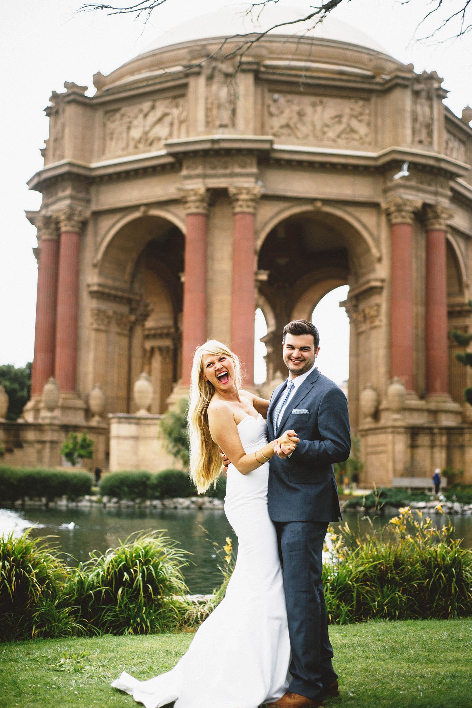 Laura  Bens San Francisco City Hall Wedding