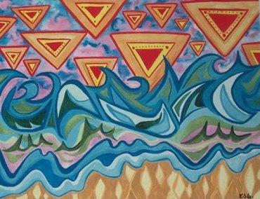 Star & Waves