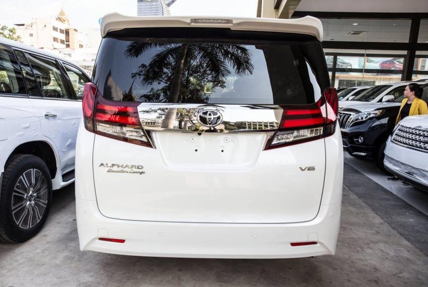 all new alphard executive lounge harga yaris trd sportivo 2014 toyota 2016 white kim srun primium auto