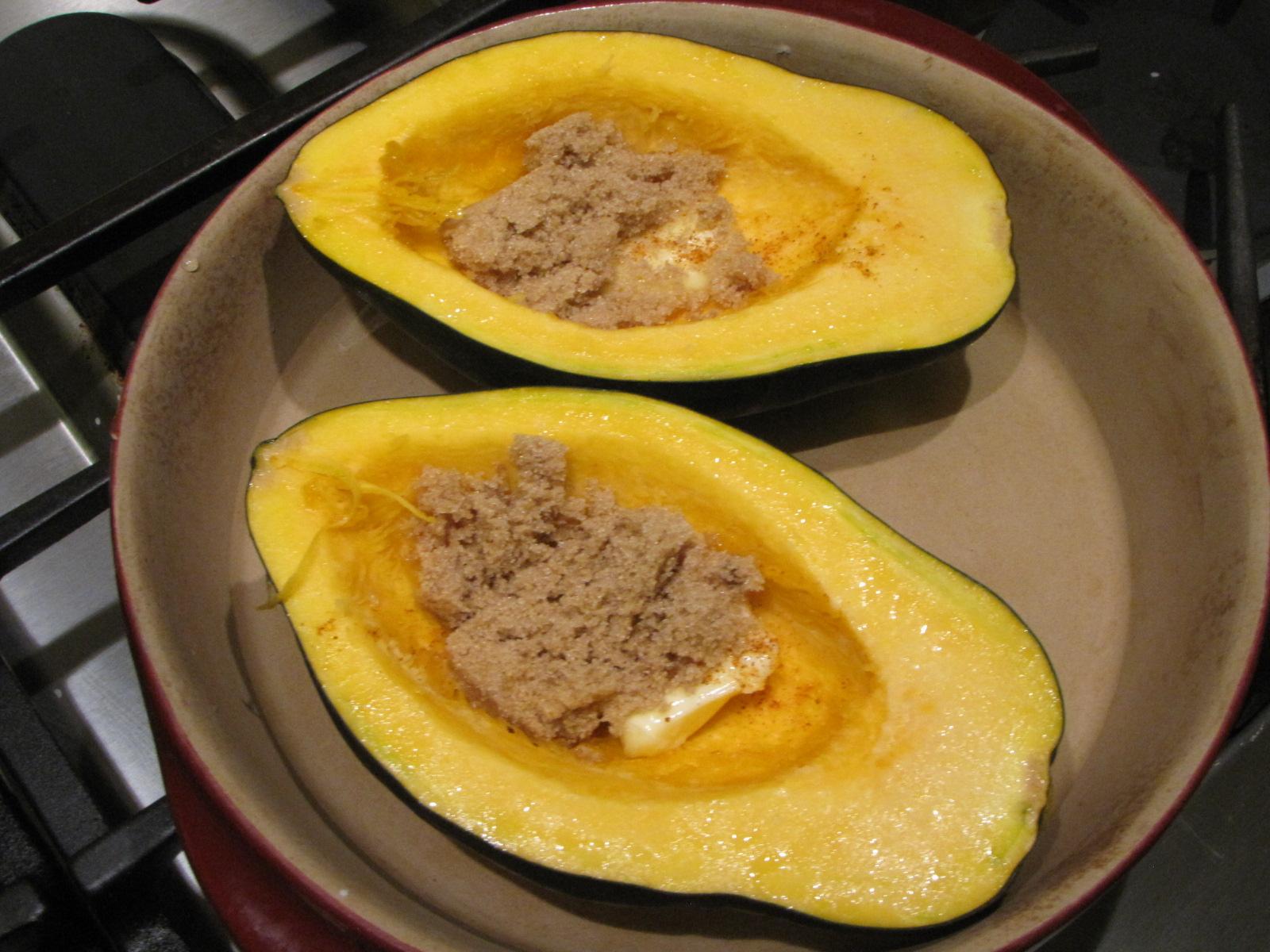 Easy Baked Acorn Squash | Kimversations