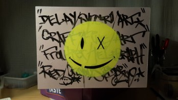 Delay Smiley (For Mikey) 2019