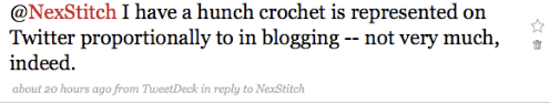 Where Are the Crochet Bloggers?