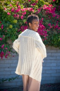 The Coronado cardigan, by Kristi Porter, is my favourite in the book. So cozy!