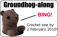 Groundhog-along 2010 badge