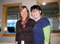 Sheryl MacKay and me, photo