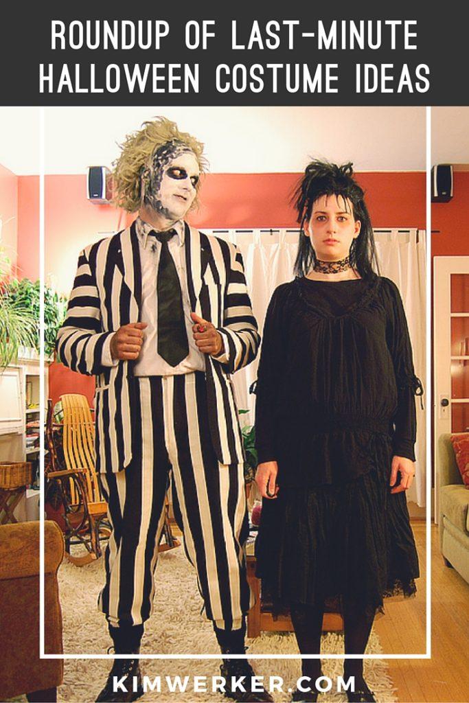 Roundup of Last-Minute Halloween Costume Ideas