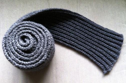 Mistake rib scarf