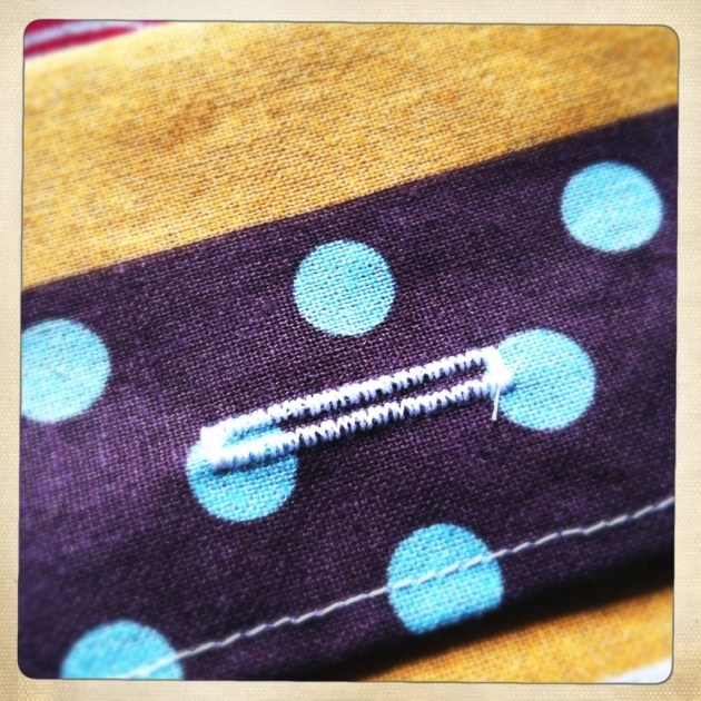 Buttonhole closeup