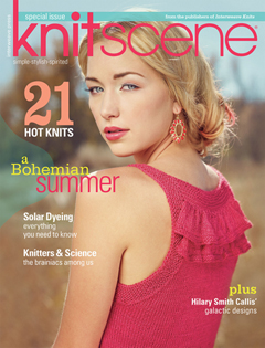 Knitscene Summer 2013 cover