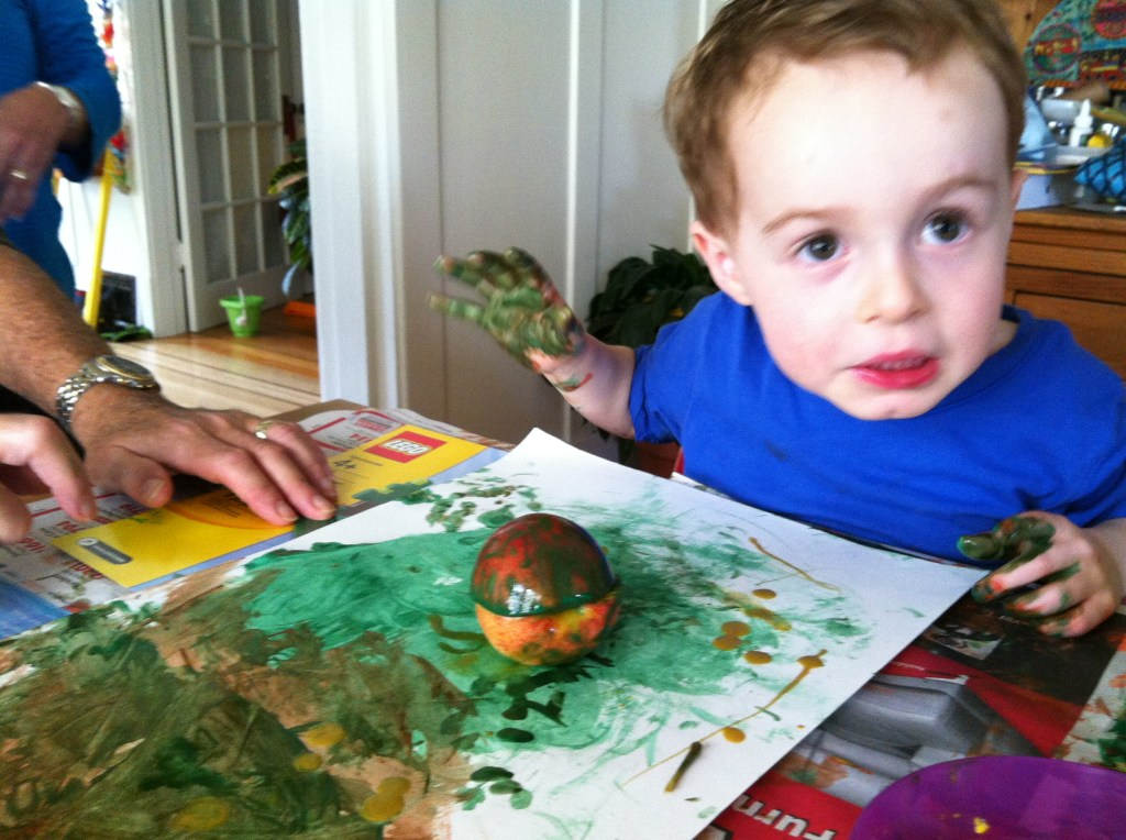 Painting with Apples!
