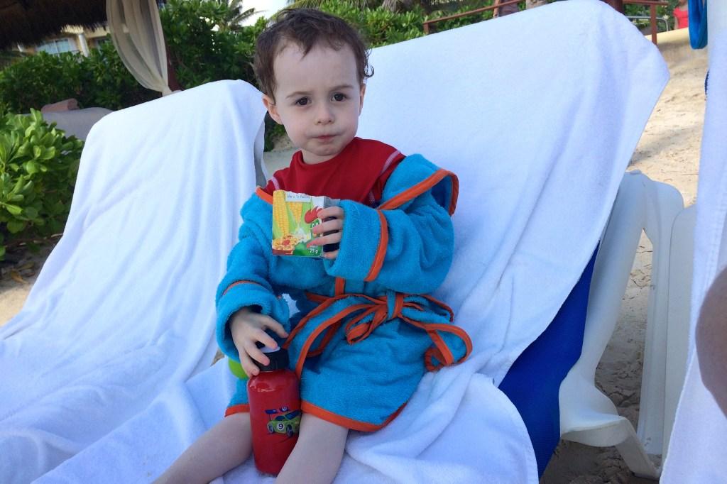 photo of beach robe
