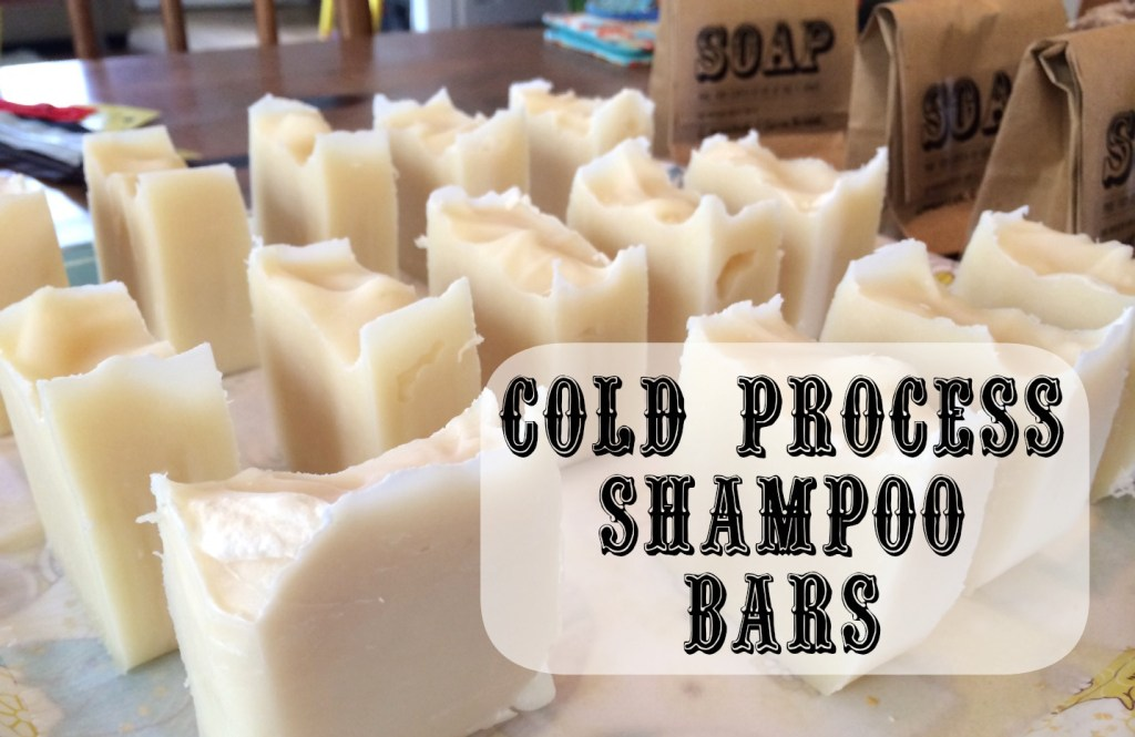image of cold-process shampoo bars