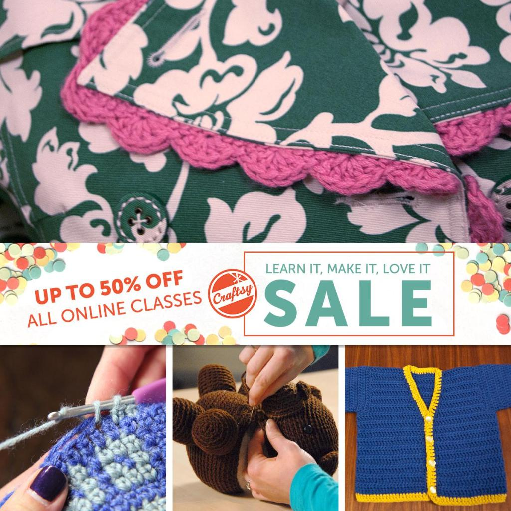 Craftsy March Sale Image