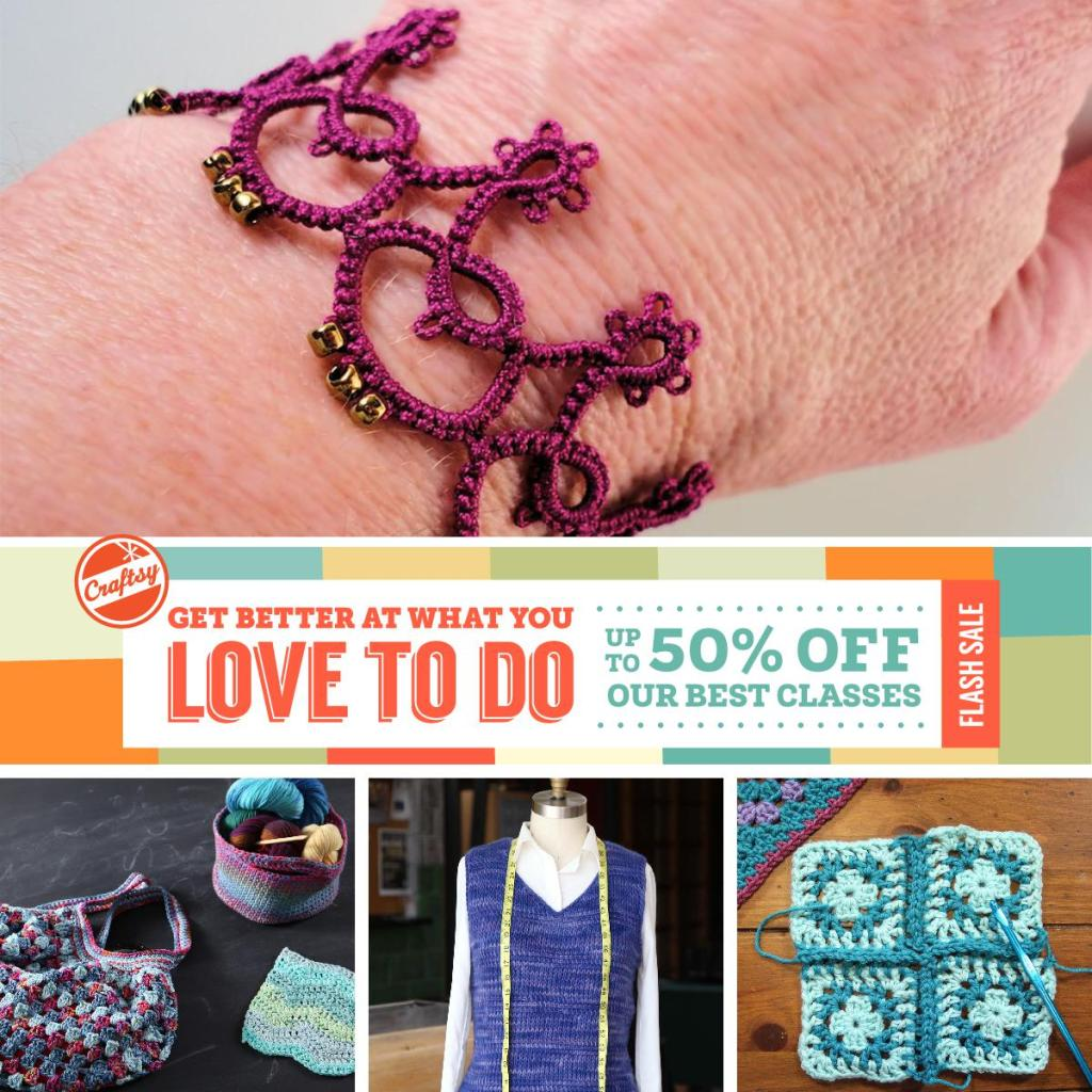 Craftsy Flash Sale